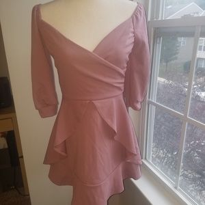 Short Ruffle Skater Dress - Size 6